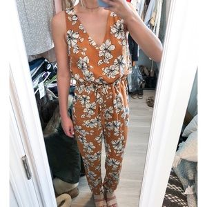 NWT Forever 21 Floral Jumpsuit